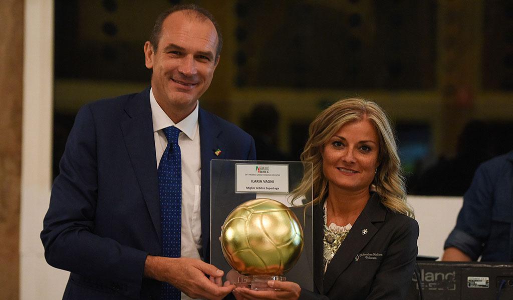 Vagni Ilaria Miglior Arbitro Superlega 2019-20