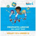Volley S3 e U12: protocollo attività di base e proposte ludiche