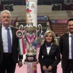 Ufficiali di Gara – Simone Santi, Ilaria Vagni e Massimo Rolla dirigono la finale scudetto di A1 femminile
